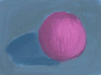 Study of a purple ball by cillanoodle