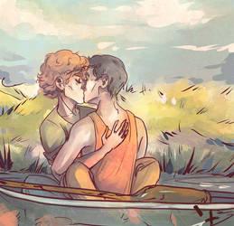 Summer Boat by Kvelde