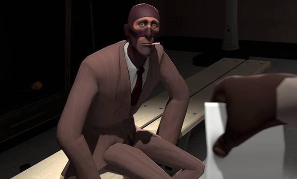 (SFM) POV: Ya found spy's drawing