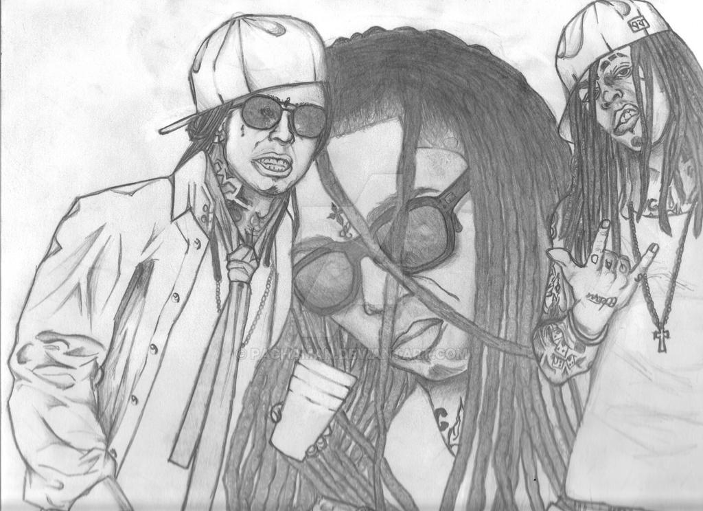 Lil Wayne Collage Tribute By Pachaman On Deviantart