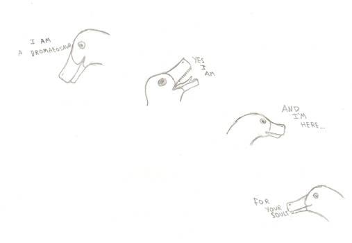 Cute Little Dromaeosaur