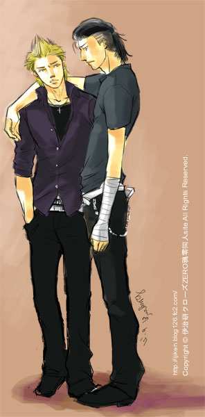Crows Zero Genji x Izaki YAOI by ijiken