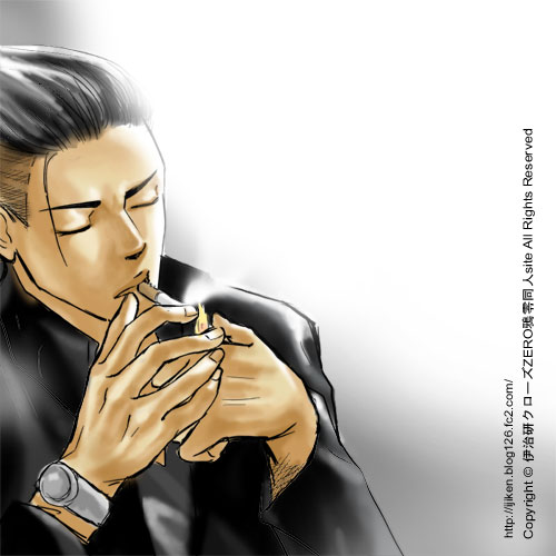 genji wallpaper. crows zero Genji Smoking by ~ijiken on deviantART