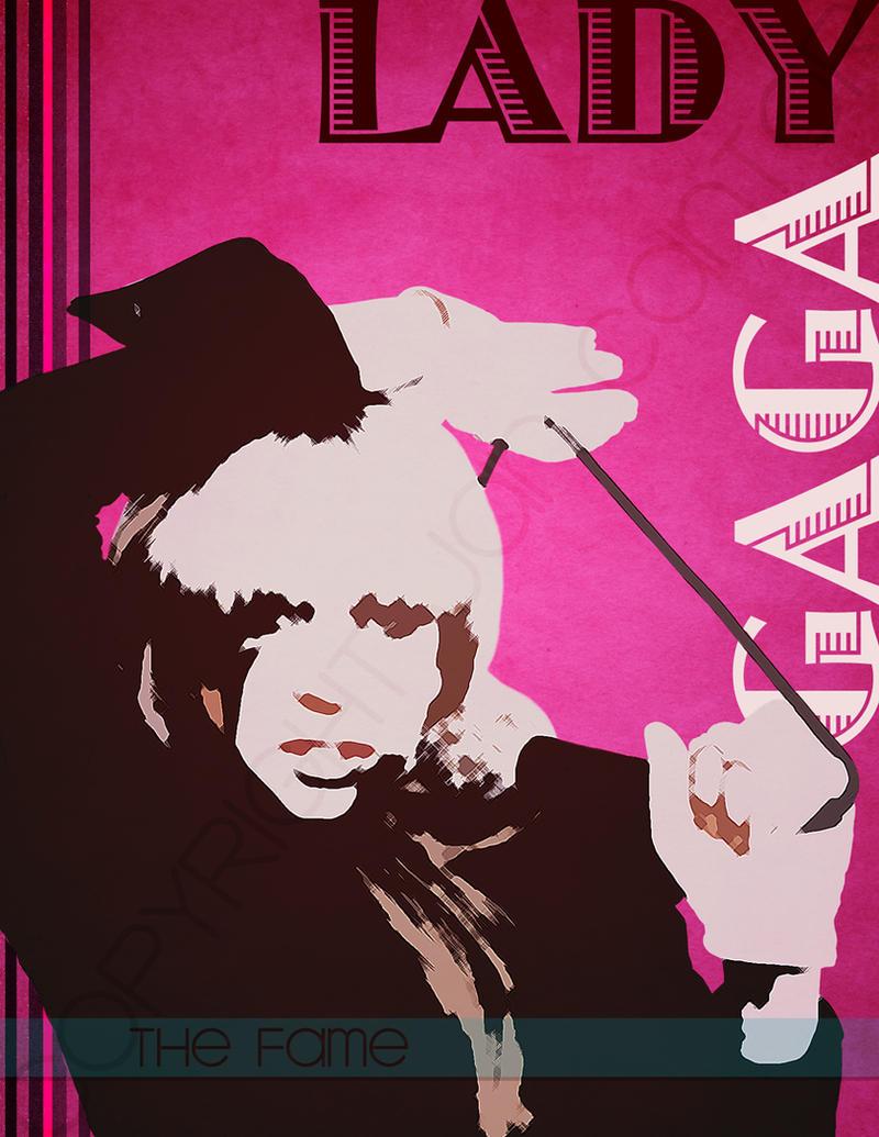 Lady Gaga Poster by jannyjanjan