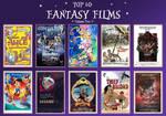 My Top 10 Favorite Fantasy Films Meme - Volume Two