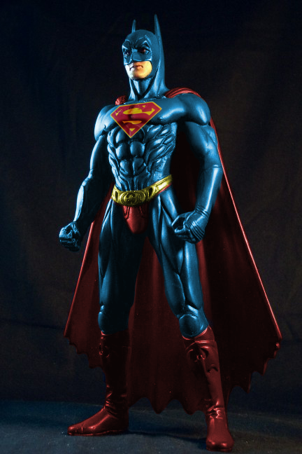 Man Of Steel 2 Batman Costume Official title and log...