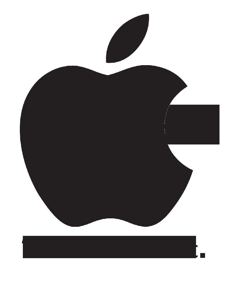 apple logo white transparent. putrid apple logo by urbinator17 white transparent
