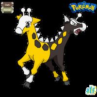 Girafarig Beta by Urbinator17