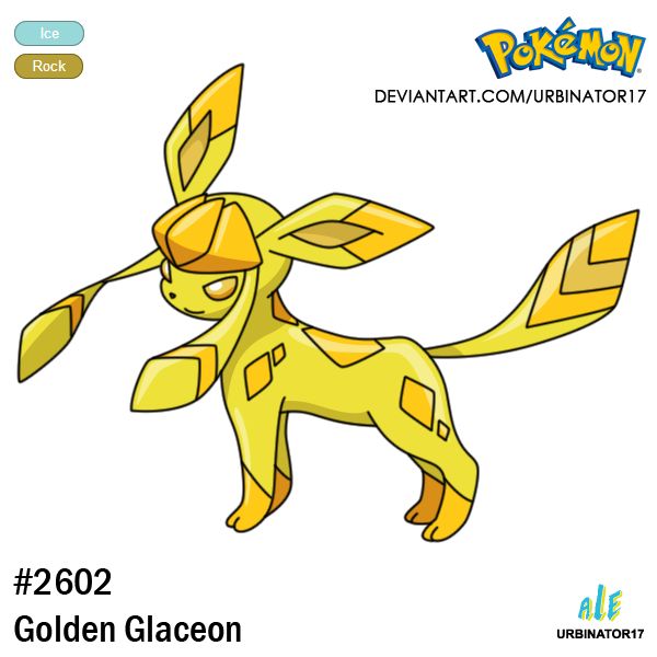 Golden Glaceon