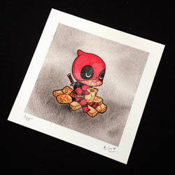 Deadpool and Chimichangas by Michelle Coffee