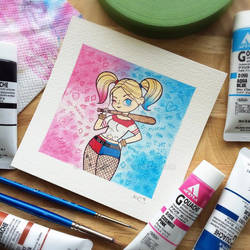 Suicide Squad Harley Quinn by Michelle Coffee