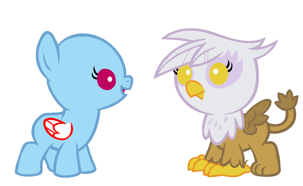 Mlp Baby Griffon Base Images & Pictures - Becuo