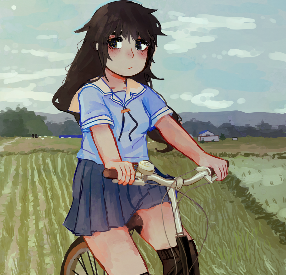rice paddies by seadrown