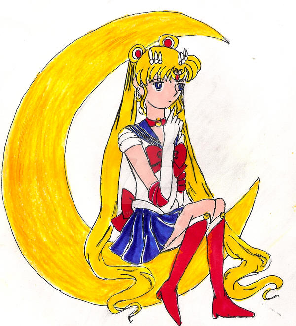Sailor Moon PrePrincess2 by Evilness321