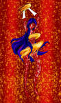 Taranee Henshin- Mars Power1 by Evilness321