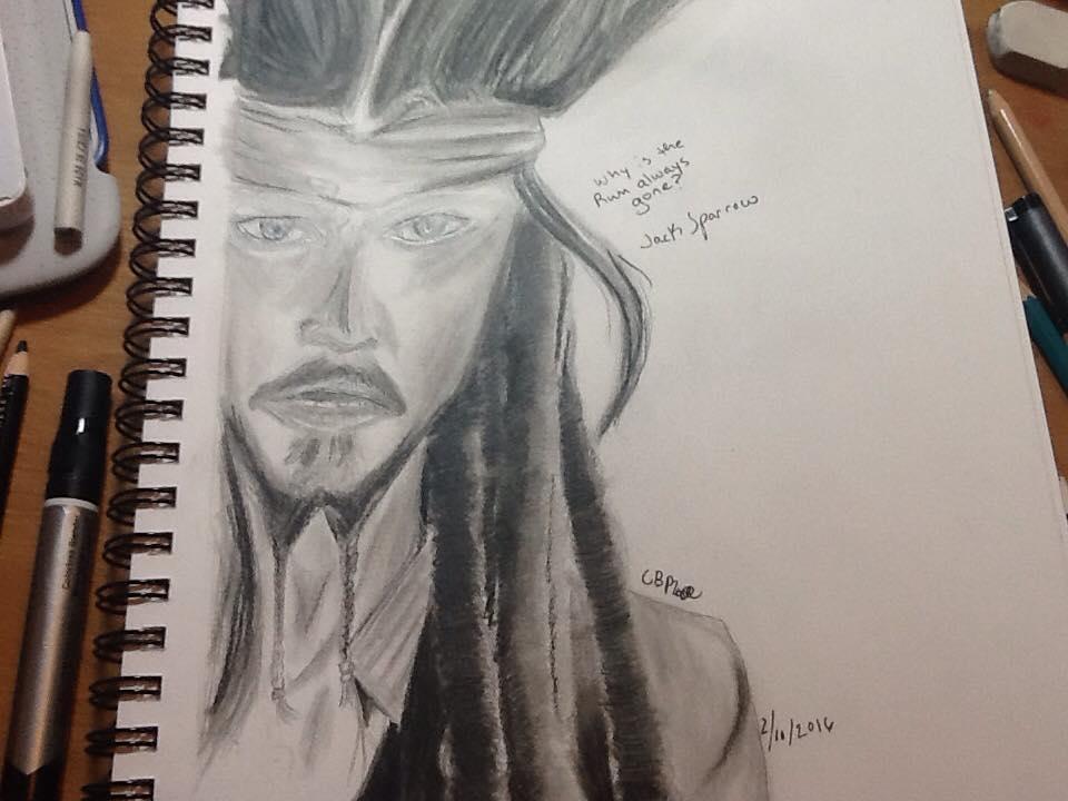 Jack Sparrow by Evilness321