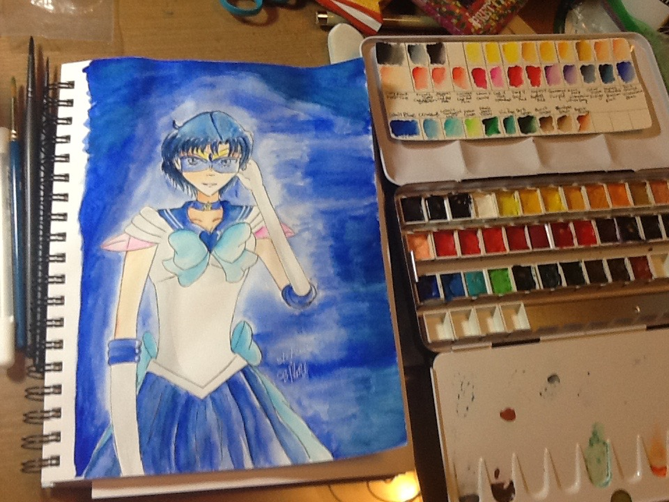 Super Sailor Mercury by Evilness321