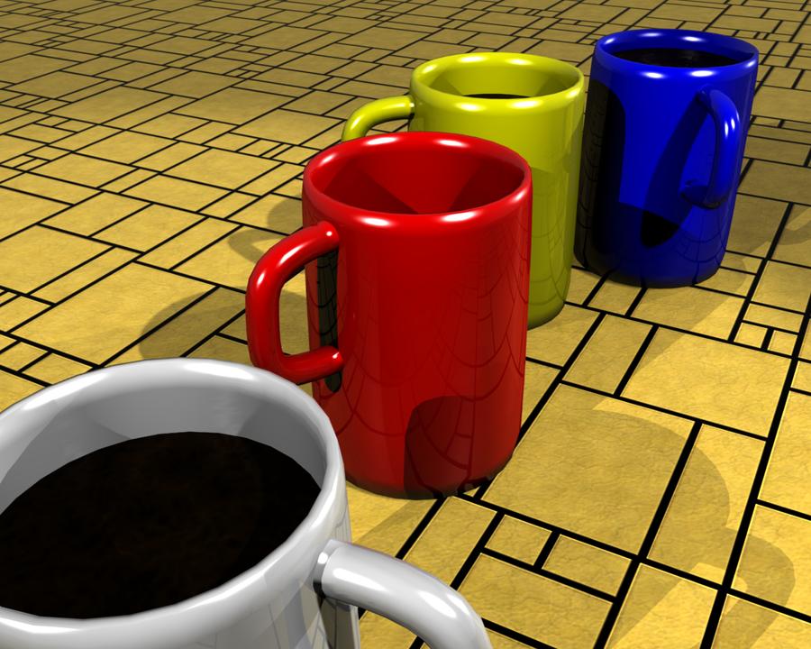 Coffee cups tazas de cafe by niozero on deviantart for Tazas para cafe espresso
