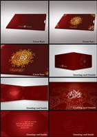 greeting card UAE by is007lam
