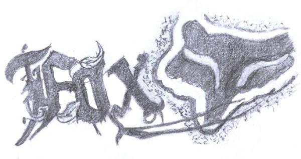 Fox logo by bighoppins on deviantart for Cool fox drawings