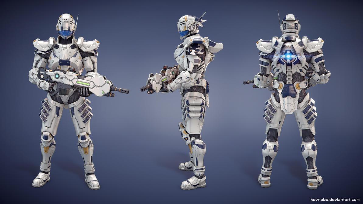 Sam Gideon from Vanquish - 3D Model Replica by kevnabo on ...