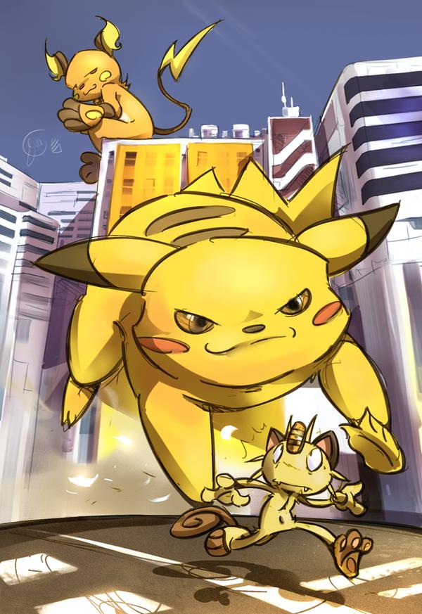 tank .:Team Pikachu:. by edtropolis