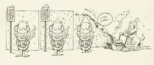 cold feet (newspaper comics #8)