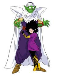 Cuembra and Piccolo colored by ConceptCat