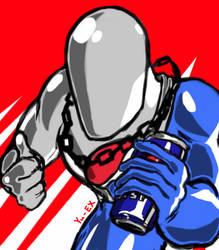 Pepsi man by Yu-EX