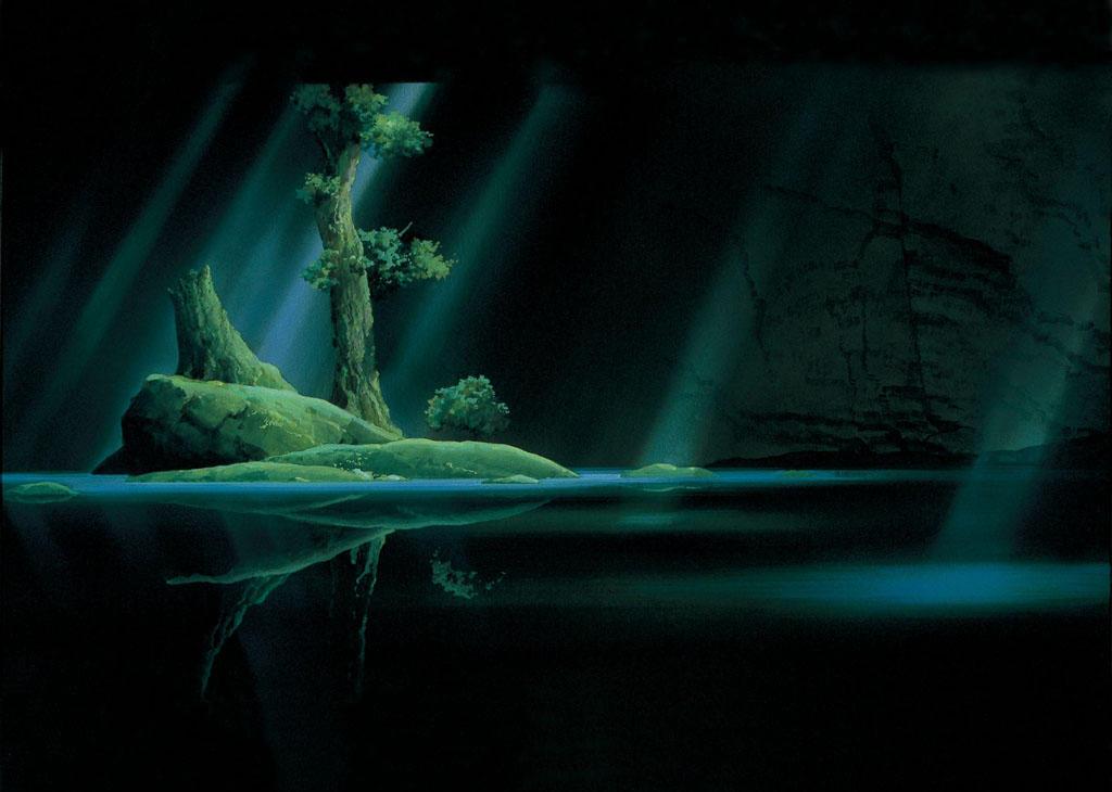 princess mononoke forest spirit. Forest spirit#39;s grove by
