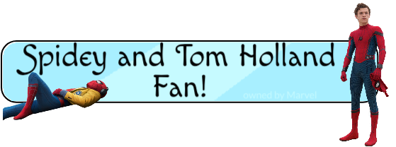 Fan of Spidey and Tom Holland Button thingy idk by Mlpnkie