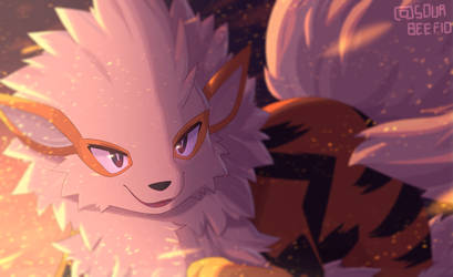 Arcanine by mien-soup