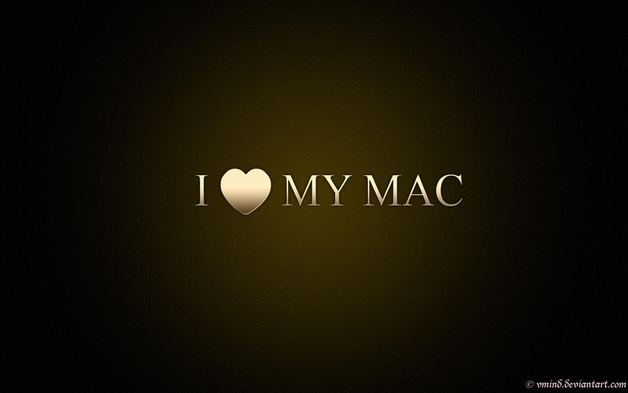 I love MY MAC by vmind