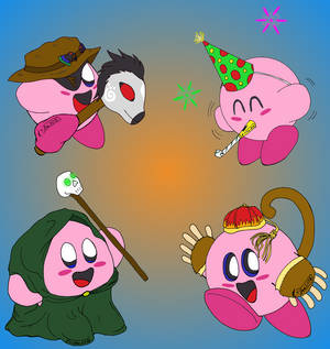 Cosplay Kirby Pile #4