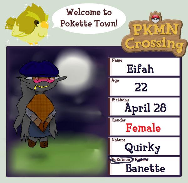 PKMN Crossing App - Eifah