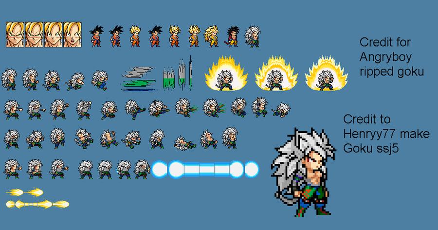 Goku SSJ5 LSWI by Henryy772 on DeviantArt | 900 x 472 png 292kB