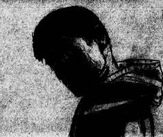 Enhanced, Spooky Self Portrait by Bluefinger