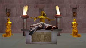 Temple Sacrifice by creativeguy59