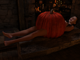 Witches-Cottage-02-PumpkinGal by creativeguy59