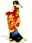 Tsuchan in kimono 1