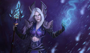 Frost mage by Oxanta