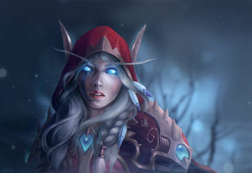 The high elf portrait by Oxanta
