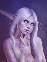 Night elf portrait [C]