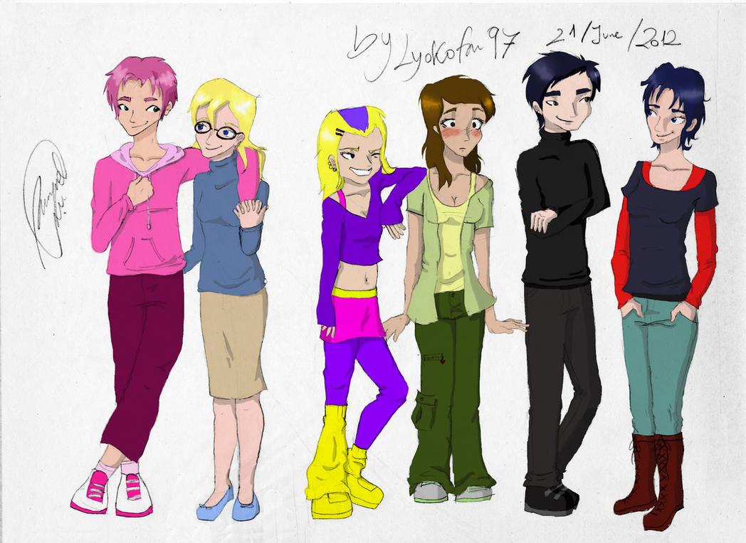 Genderbending Code Lyoko by Lyokofan97