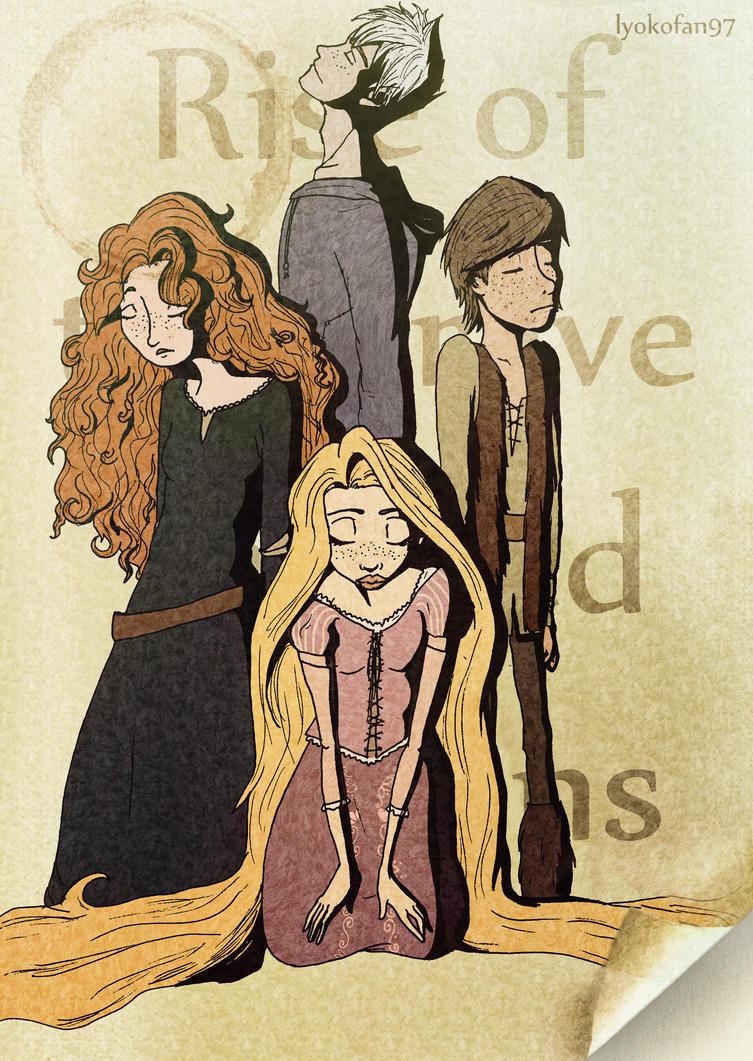 The Big Four - Poster by Lyokofan97