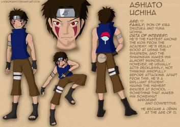 Ashiato Uchiha by Lyokofan97