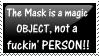 The Mask Stamp II by OkdroMasterOfRunes
