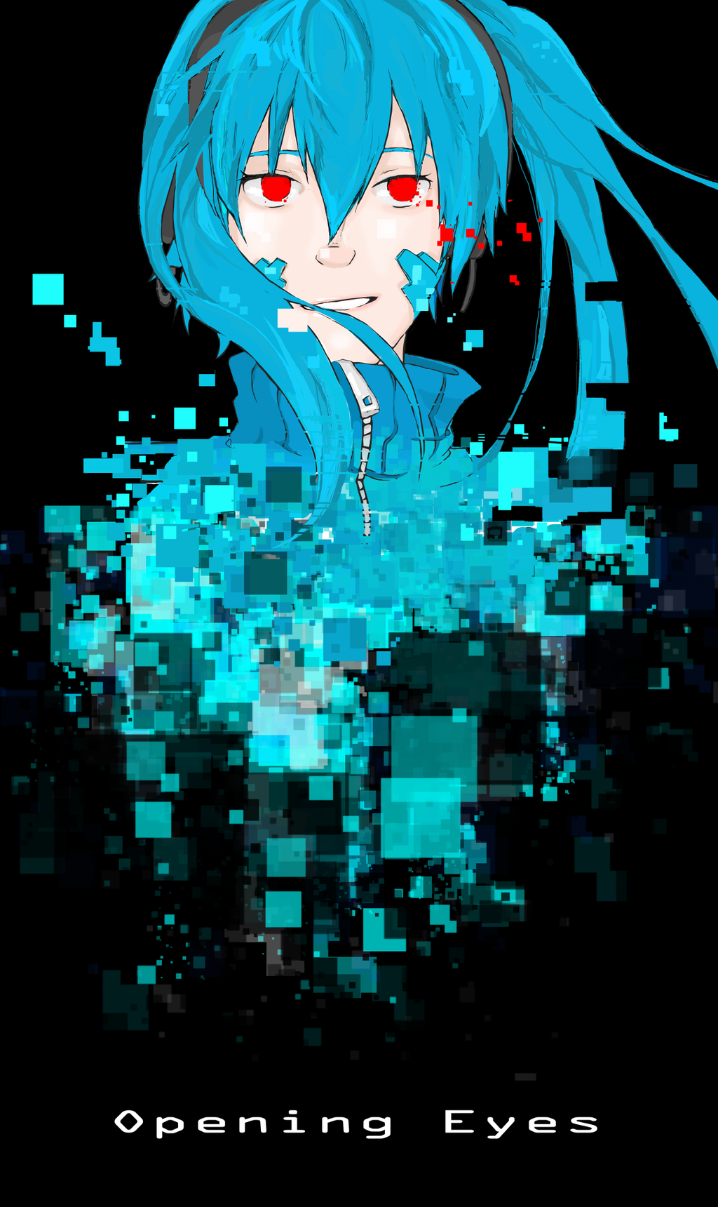 Cyber Girl Ene by Talishu