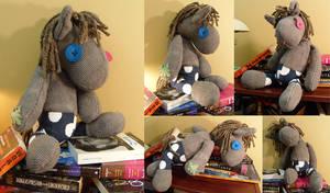 Miss Smartypants plushie by Voodoo-Tiki