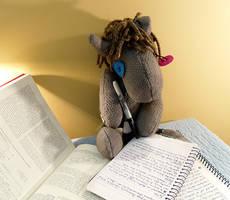 She's Doing Her Homework by Voodoo-Tiki